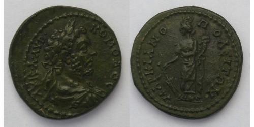 Римская империя, провинция Верхняя Мёзия, Коммод, 177-192 гг., AE22. Вес 6,91 грамма.