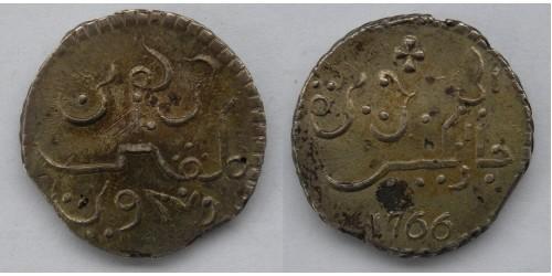 Индонезия. Ява о-в. Рупия 1766 года. Вес 13,00 грамм. Редкая. Не имеет следов хождения.