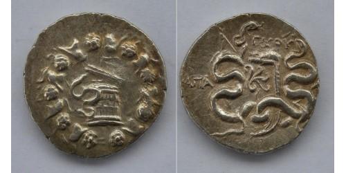Фригия, Апамея, 88-67 годы до РХ, AR кистофорная тетрадрахма. Вес 12,45 грамма. Диаметр 25 мм.