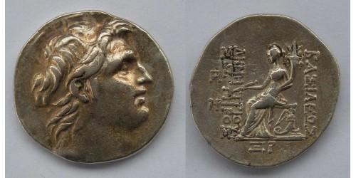 Селевкиды, Деметрий I Сотер, AR тетрадрахма 162-150 гг. до Р. Х. Вес 16,92 грамма. Диаметр 30 мм.