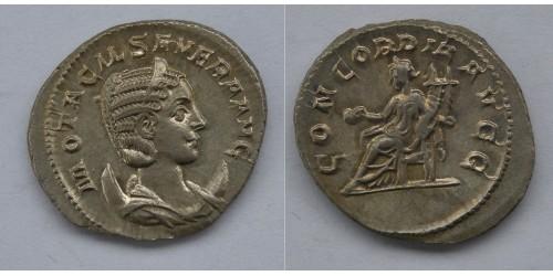 Римская империя. Отацилия Севера.  246-248 годы, антониан. Вес 4,13 грамма. Диаметр 23 мм.