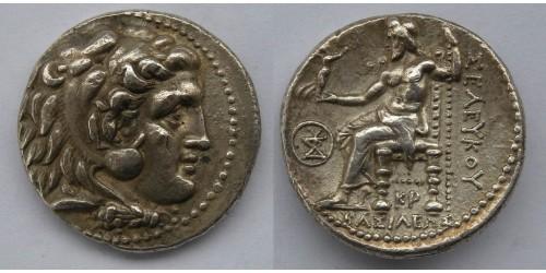 Государство Селевкидов, Селевк I Никатор, 312-281 годы до Р. Х., тетрадрахма. Вес 16,97 грамма.